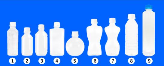 9種類のオリジナルペットボトル