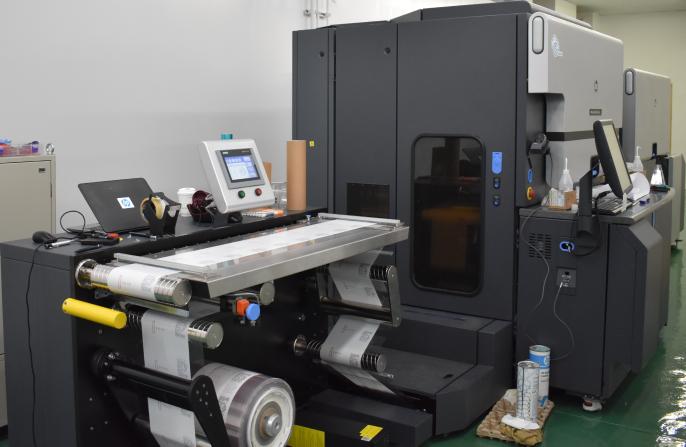 HP Indigo デジタル印刷機