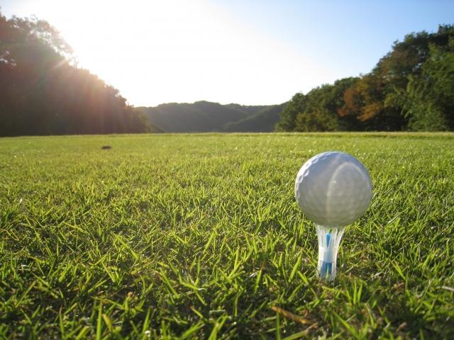 ゴルフの営業ツールとして
