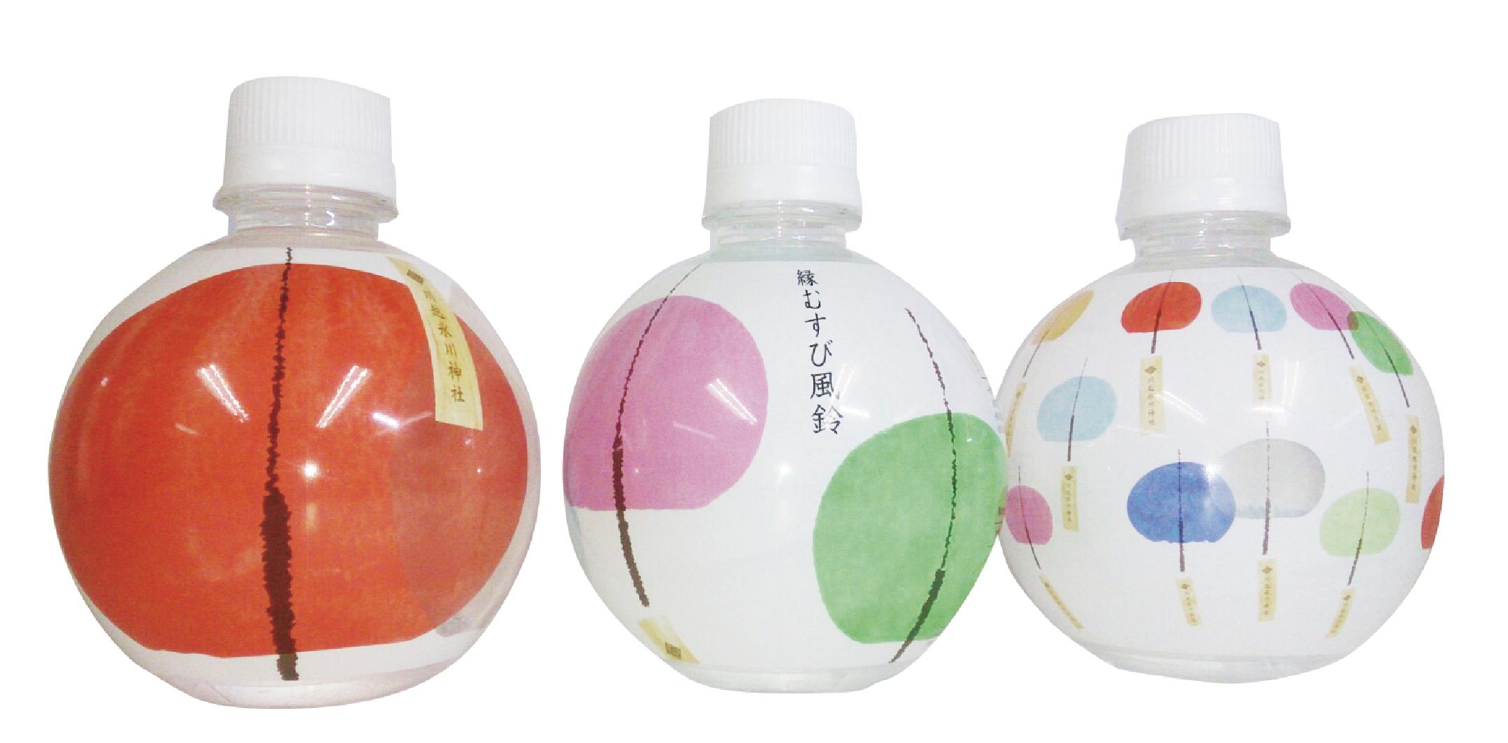 氷川神社のペットボトルの実際の写真