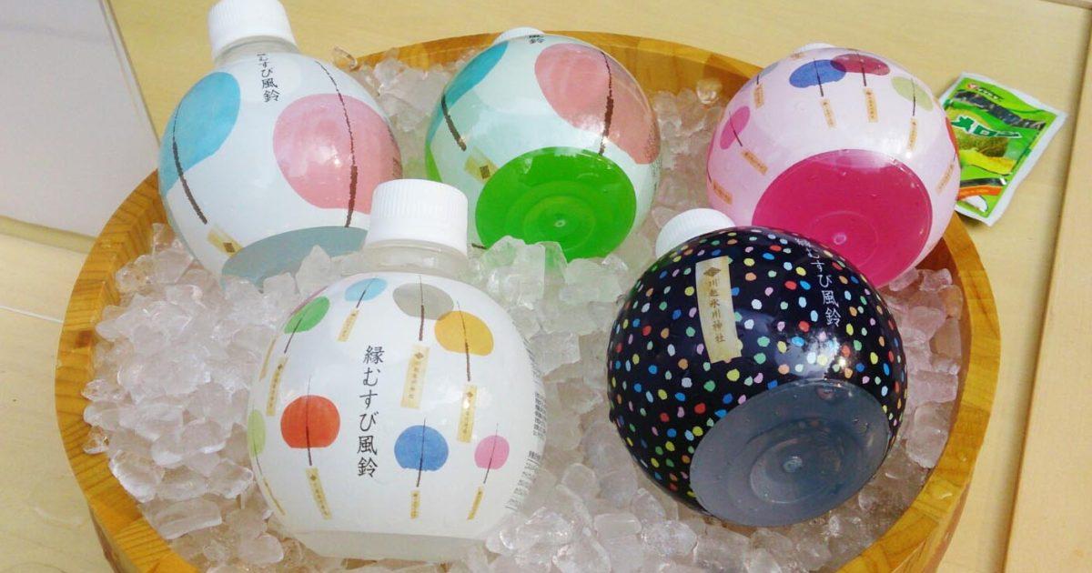 川越氷川神社様のオリジナルペットボトル水