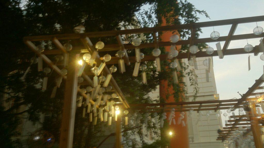 夜の川越氷川神社2